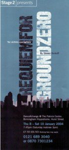 34. Requiem for Ground Zero 8th - 10th Jan 2004