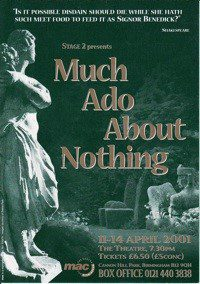 45. Much Ado About Nothing 11th - 14th Apr 2001