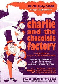 50. Charlie and the Chocolate Factory 18th - 21st Jul 2001