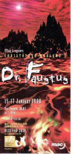 67. Doctor Faustus 15th - 17th Jan 1998