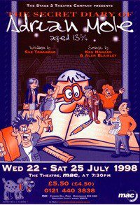 70. The Secret Diary of Adrian Mole Wed 22 - Sat 25 Jul 1998
