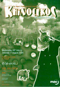71. The Rhinocerous 9th July - 1st Aug 1998