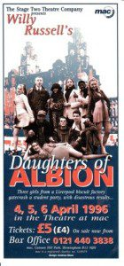 78. Daughters of Albion 4th - 6th April 1996
