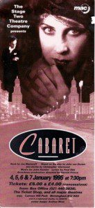 81. Cabaret 4th - 7th Jan 1995