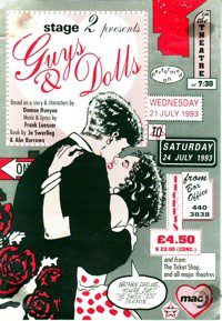92. Guys & Dolls 21st - 24th July 1993