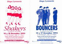 94. Bouncers & Shakers 15th - 18th Dec 1993